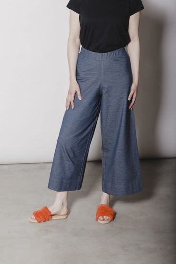 Alex culottes housut | denim