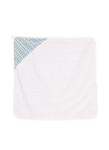 Hooded baby towel | treasure stripe
