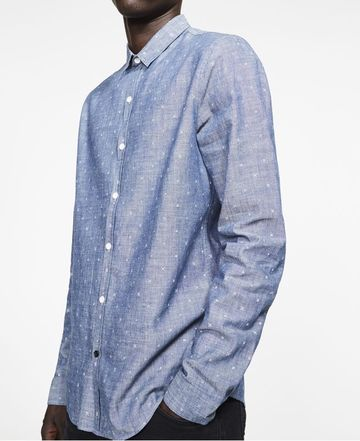 Ryan Stiches shirt | blue