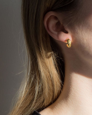 Cinna mini earrings | gold