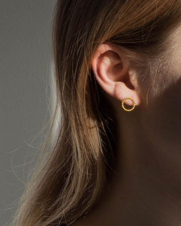 Hayes earrings | gold
