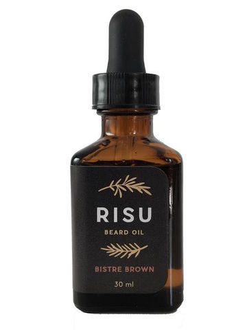 RISU beard oil | Bistre Brown