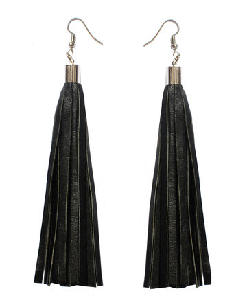 Bright New Dawn earrings | black