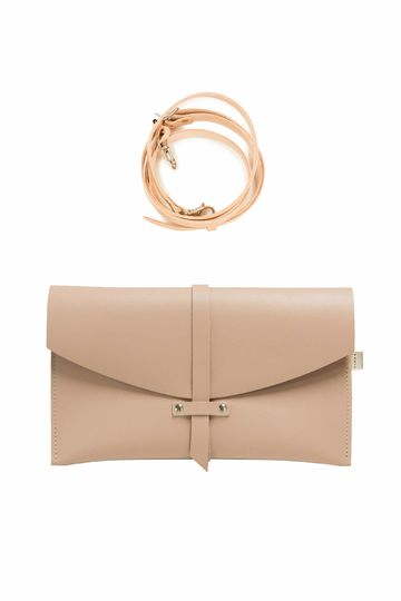 Agata handbag | soft powder