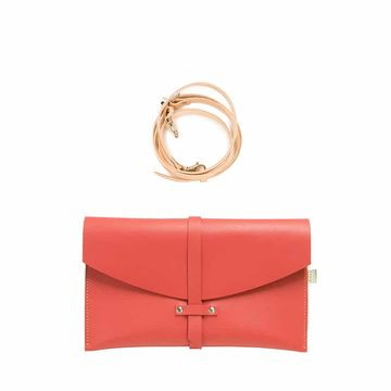 Agata handbag | bright red