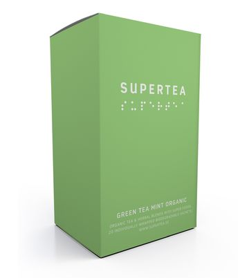 Supertea | green tea mint organic