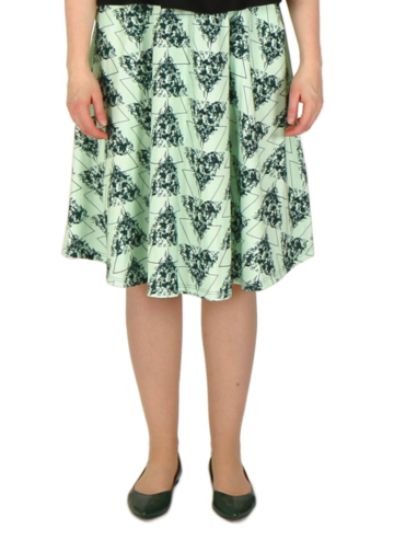 Wildflowers skirt | green/green