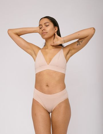 Bikini briefs 2-pack | rose nude
