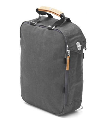Daypack | organic washed black