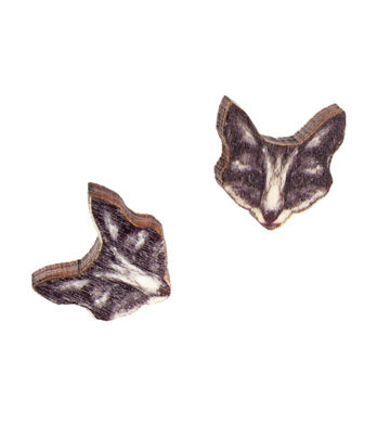 The Fox mini stud earrings