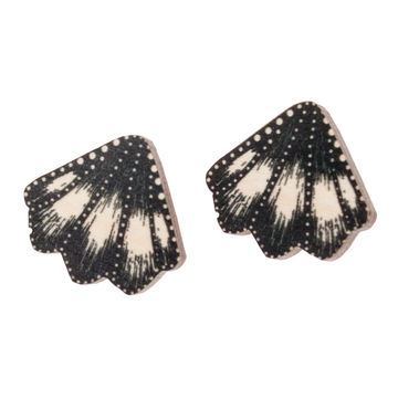 Merenneidon evät stud earrings