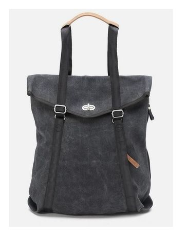Tote | washed black