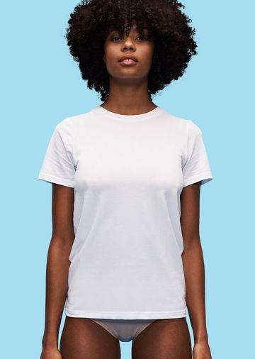 Women's Organic Cotton Tee | white