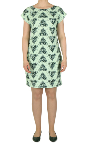 Wildflowers dress | green/green