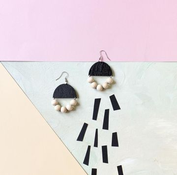 Huvitella earrings | black