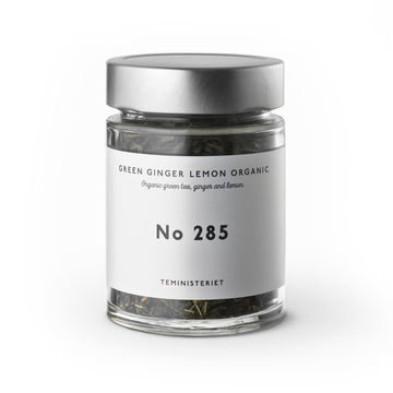 Ginger lemon | organic green tea nro 285 JAR