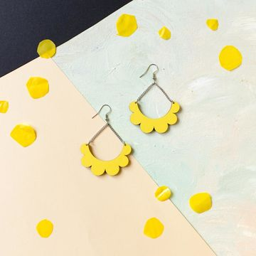 Kaarella earrings | yellow