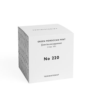 Moroccan mint | organic green tea nro 220 BOX