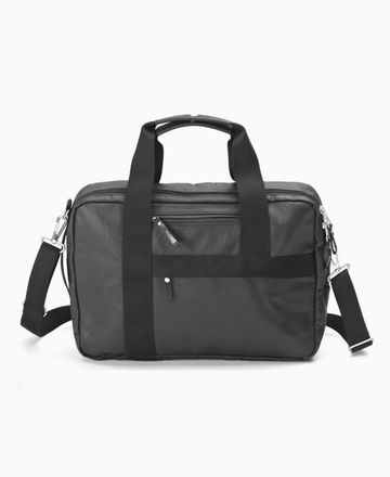 Office bag | organic jet black