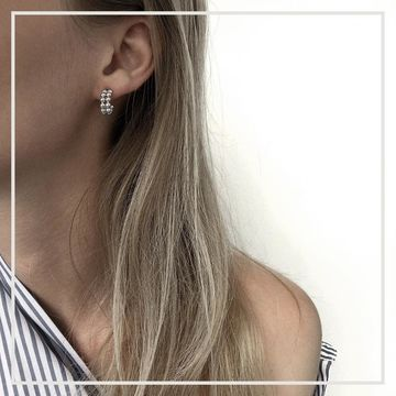 Fion earrings | silver