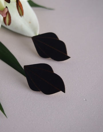 Fauna earrings | black
