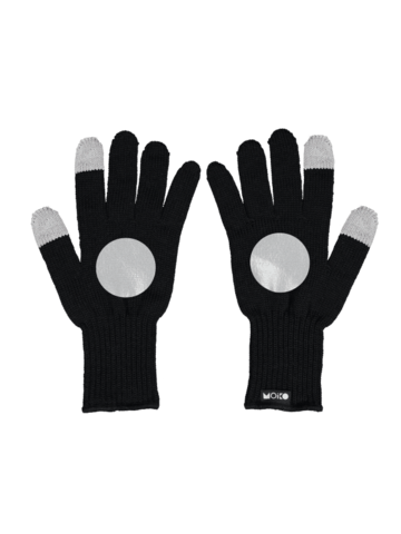 Kuu touch screen gloves | black