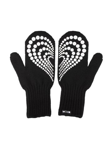 Lempi double layer mittens | black