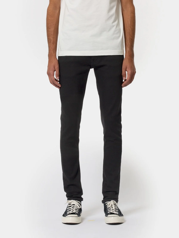 Nudie Jeans Tight Terry Everblack
