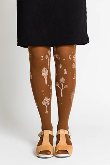 Puisto tights 70den | caramel