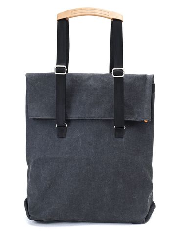 Day Tote | washed black