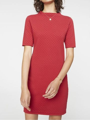 Jalessa dress | chili red
