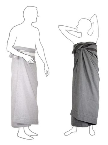Wellness towel | dark grey pique
