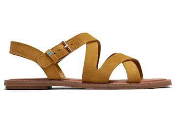 Sicily sandaalit | amber gold suede