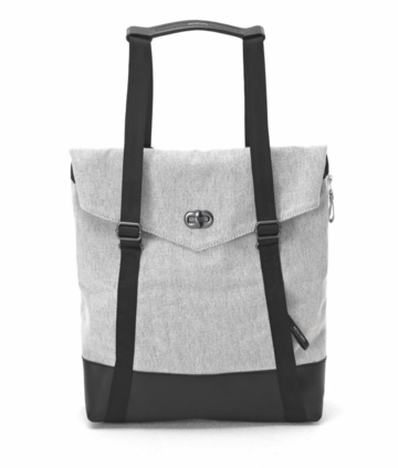 Tote | raw blend leather canvas