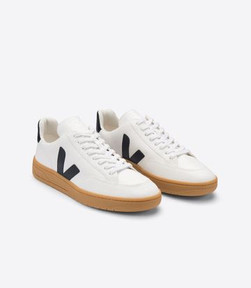 V-12 tennarit | extra-white black natural gum sole