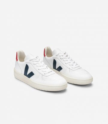 Tennarit | V-10 leather extra white nautico pekin