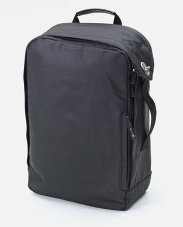 Backpack | organic jet black