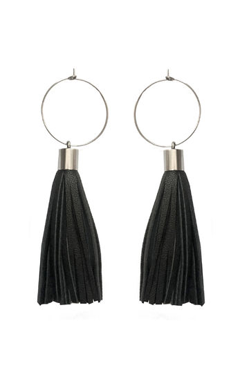 Bright New Dawn mini earrings | black