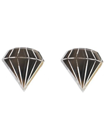 Diamonds Are Forever mirror earrings
