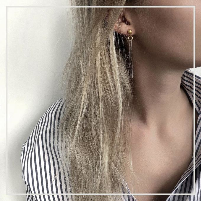 Amaia earrings | gold