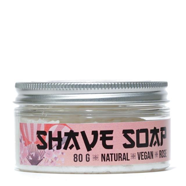 Shaving soap 80g | rose