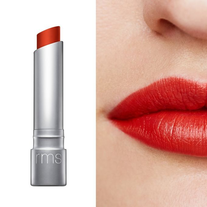 Wild with Desire lipstick | RMS red