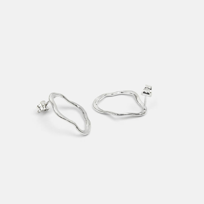 Dalga earrings I | silver