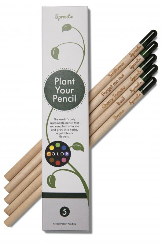 Plant your pencil | 5 colours