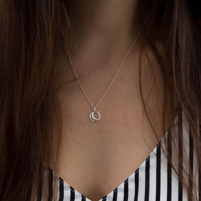 Maeve necklace | silver