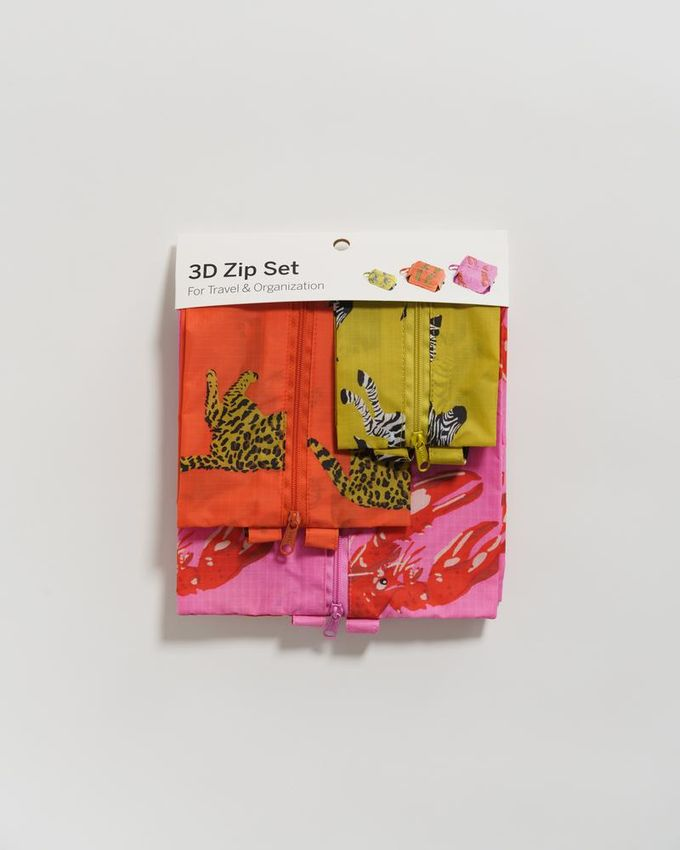 3D zip set | fancy animal