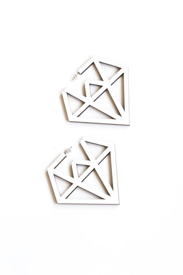 Doo Wop earrings | white