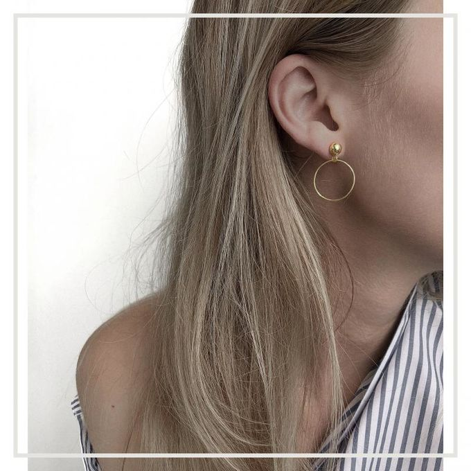 Meisi earrings | gold