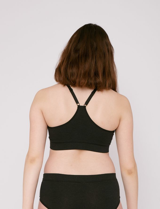 SilverTech basic bra | black