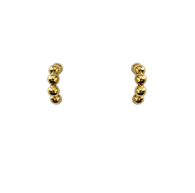 Damia earrings | gold